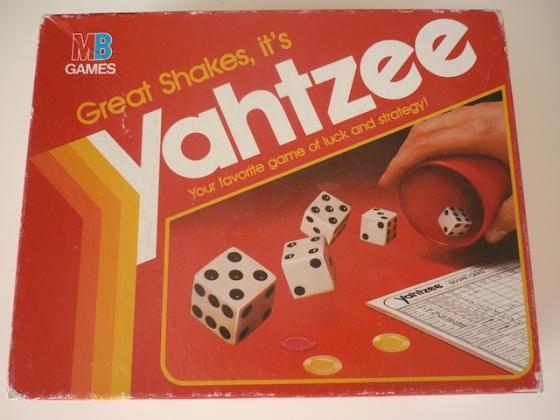 Yahtzee box